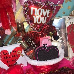Victoria's Secret Pink Valentine's Day Gift Basket